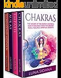 Psychic Development: 4 Manuscripts - Empath, Auras, Meditation, Chakras (Energy Work)