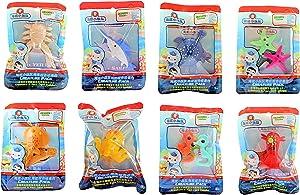 Octonauts Fisher Price Sea Creature Pack - Seahorse, Octopus, Turtle, Torpedo Ray, Yet Crab, Sailfish, Squid & Starfish - Set of 8