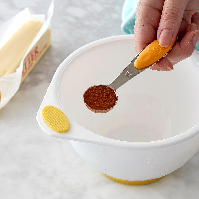 1tsp 1//2 Wilton RO Measuring Spoon Set-1//4 1//2 /& 1 Tablespoon