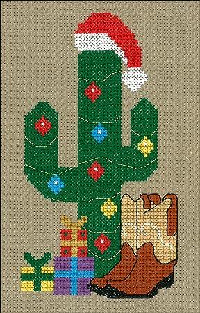 M & R Technologies 3145 - Kit de punto de cruz de Navidad ...