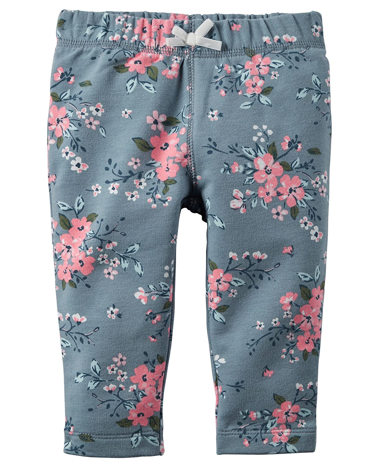 24m, Floral Carters Baby Girls French Terry Leggings Pants