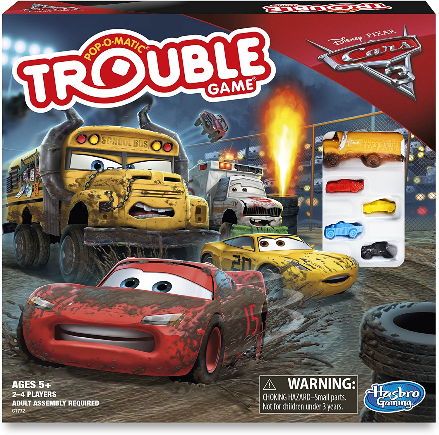 Cars 3 Trouble Board Game