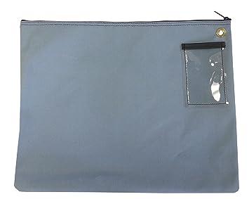 Amazon.com : Interoffice Mailer Canvas Transit Sack Zipper Bag 18w ...