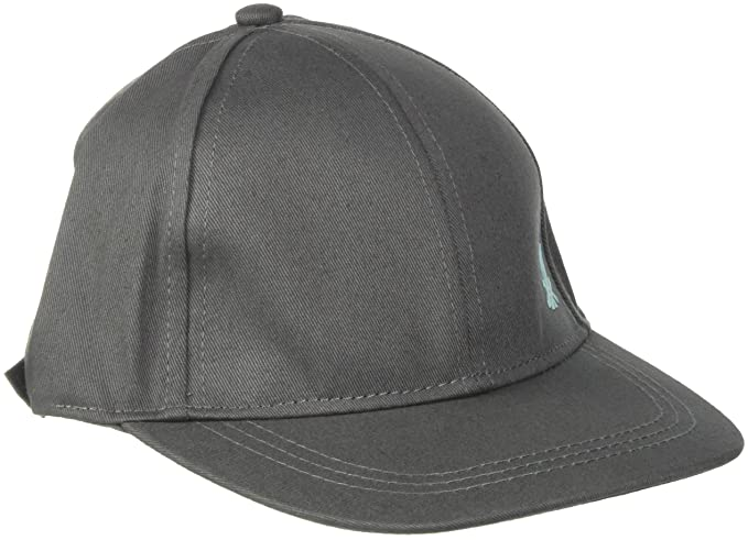 United Colors of Benetton Cap with Visor, Gorra para Niños, Gris (Grisaille 11e