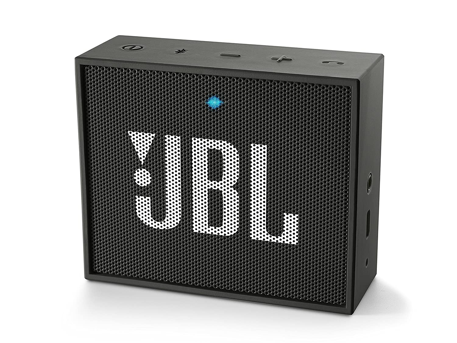 JBL GO Diffusore Bluetooth Portatile, Ricaricabile, Ingresso Aux-In, Vivavoce, Compatibilità Smartphone/Tablet e Dispositivo MP3, Nero Compatibilità Smartphone/Tablet e Dispositivo MP3 HARMAN INTERNATIONAL JBLGOBLK