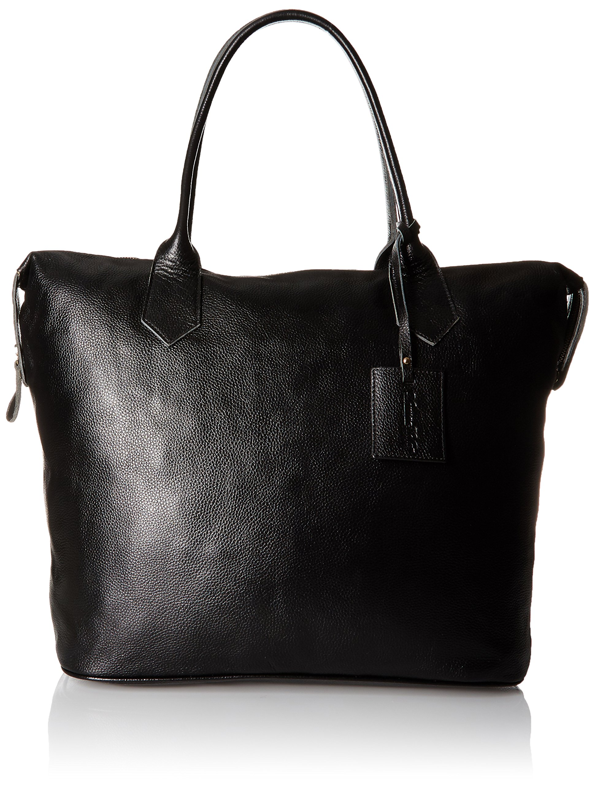 Donna Bella Designs Heron Leather Weekend Bag, Black by Donna Bella Designs