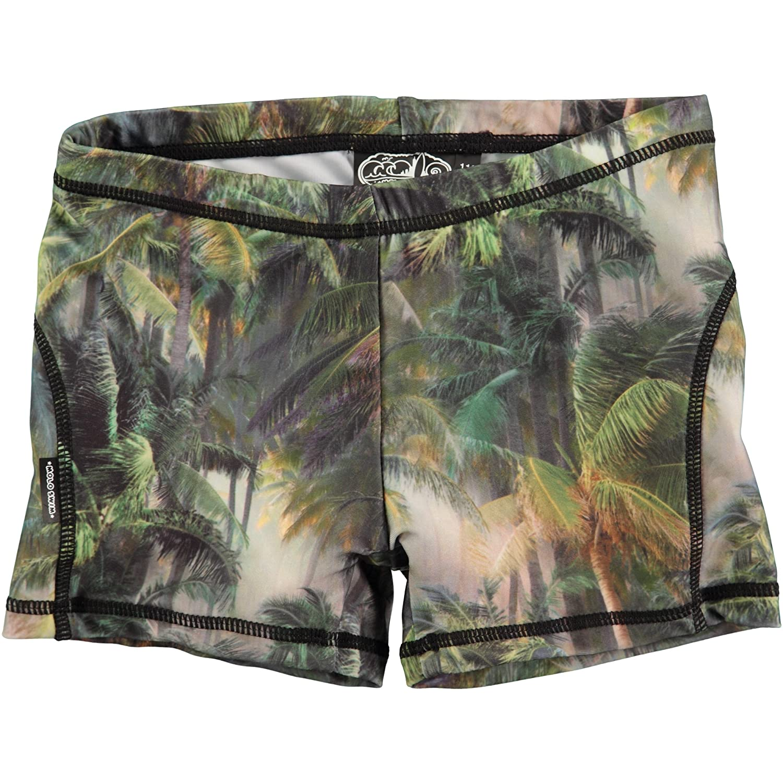 UV Protection MOLO Boys Norton Camo Palms Swim Trunks 40