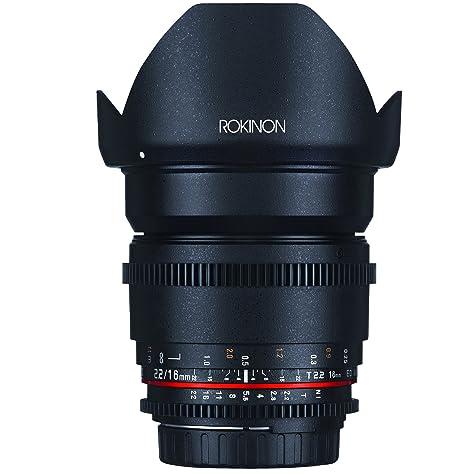 Review Rokinon DS16M-C 16mm T2.2