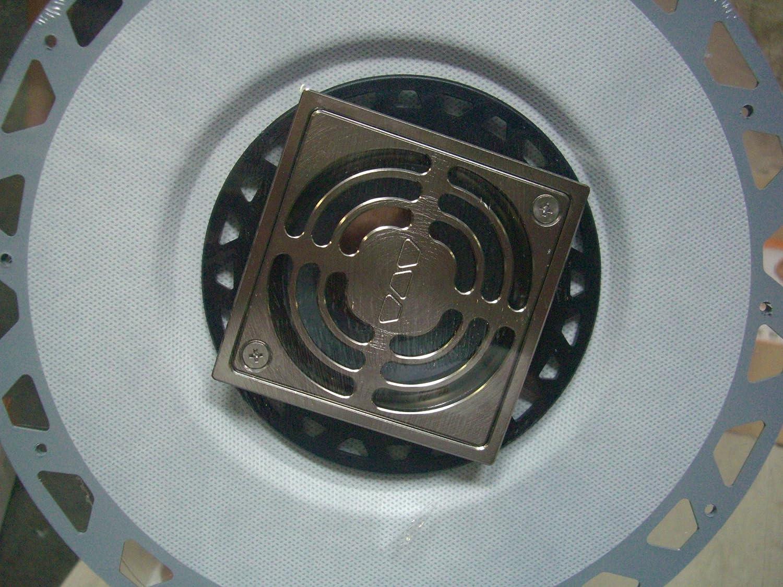 Schluter Kerdi Drain Brushed Nickel KD2//PVC//ATGB