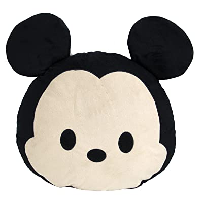 Jay Franco Disney Tsum Mickey Face Pillow: Home & Kitchen
