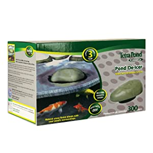 TetraPond Pond De-icer, Thermostatically Controlled, 300-Watts
