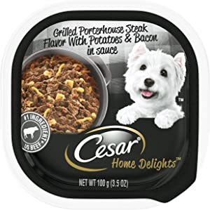 Cesar Home Delights, Home Inspired Wet Dog Food, Pack of 24