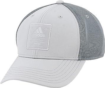 adidas Mens Arrival Snapback Cap, light Onix/Onix, One Size ...
