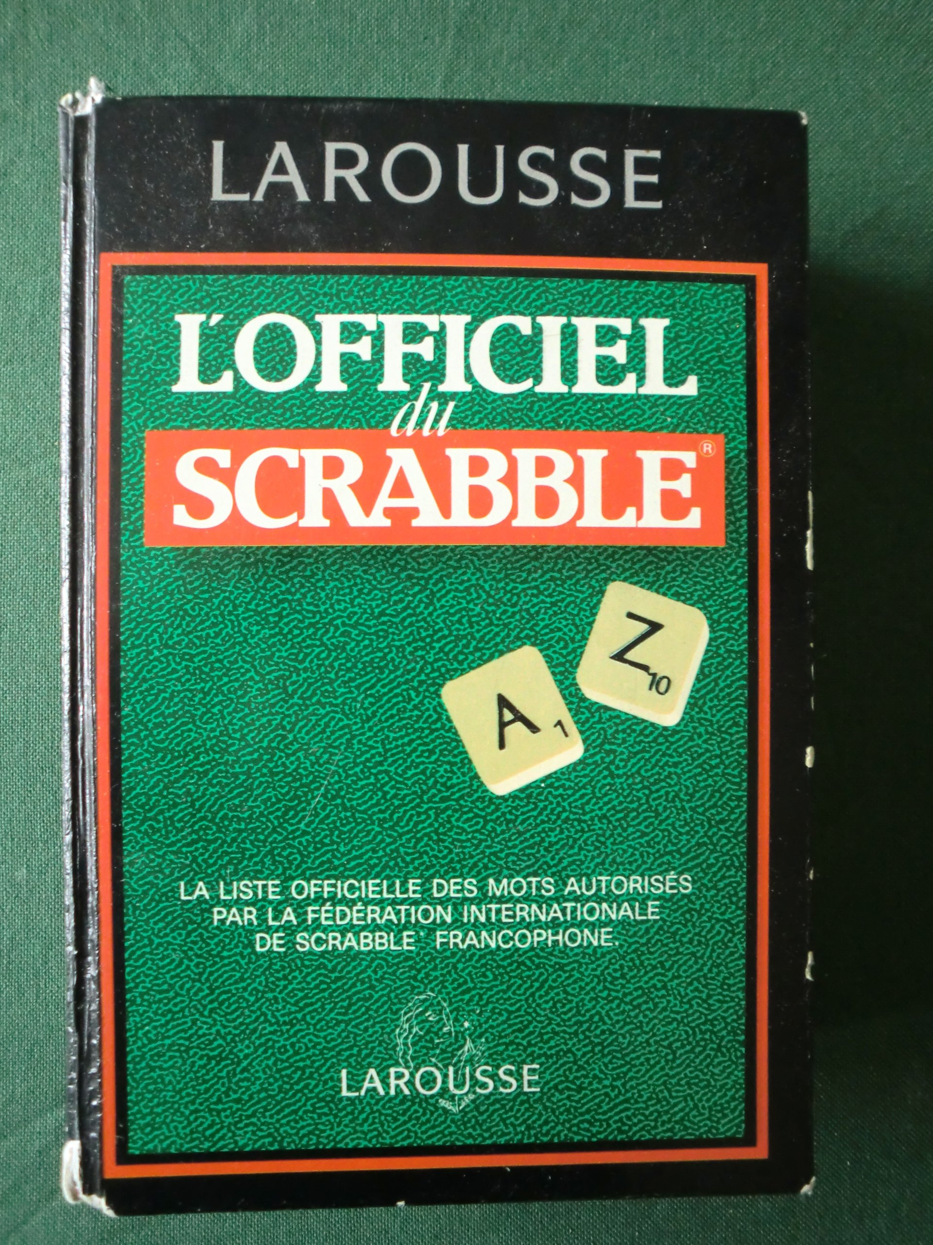 Lofficiel du Scrabble : Le compagnon des jeux de lettres: Amazon.es: Collectif: Libros en idiomas extranjeros