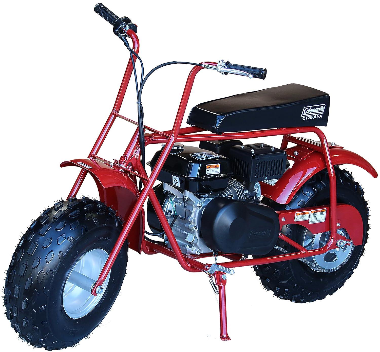 Amazon.com: Coleman Powersports 196cc/6.5HP CT200U-A Gas Powered Mini Trail  Bike Scooter for Adults and Kids (13+): Automotive
