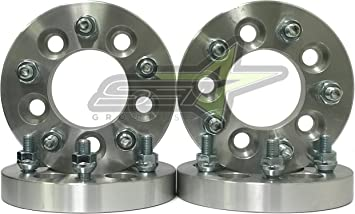 """1.25/""""5X4.5 to 5x4.75Wheel Spacers Adapters12X1.5 4"""