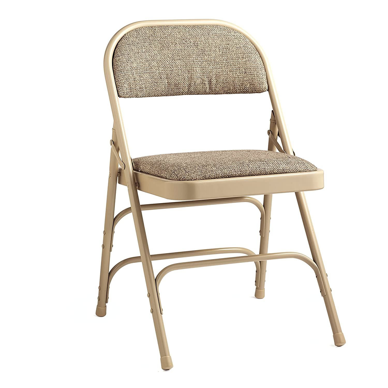 Amazon.com: Samsonite Furniture 2900 Series Fabric Padded Chair Neutral:  Clothing