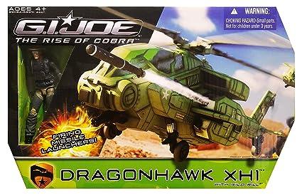 Amazon Com G I Joe Rise Of Cobra Dragonhawk Xh1 Helicopter With
