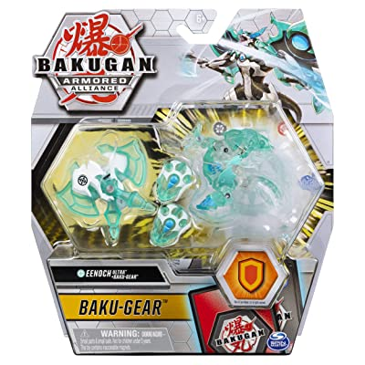 Bakugan Ultra, Haos Eenoch with Transforming Baku-Gear, Armored Alliance 3-inch Tall Collectible Action Figure…: Toys & Games