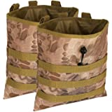 ATBP Tactical 6 Mags Molle Dump Pouch Ammo Shotgun Shell Holder Utility Tool Belt Pouch Bag for Paintball Shooting…