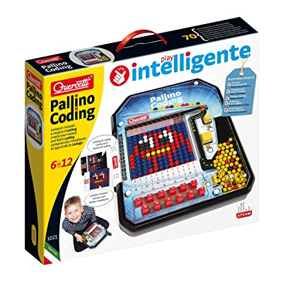 Quercetti - Pallino Coding - Educational Mosaic Game to Introduce Logic and Beginner Programming Skills, for Kids Ages 6 +: Toys & Games