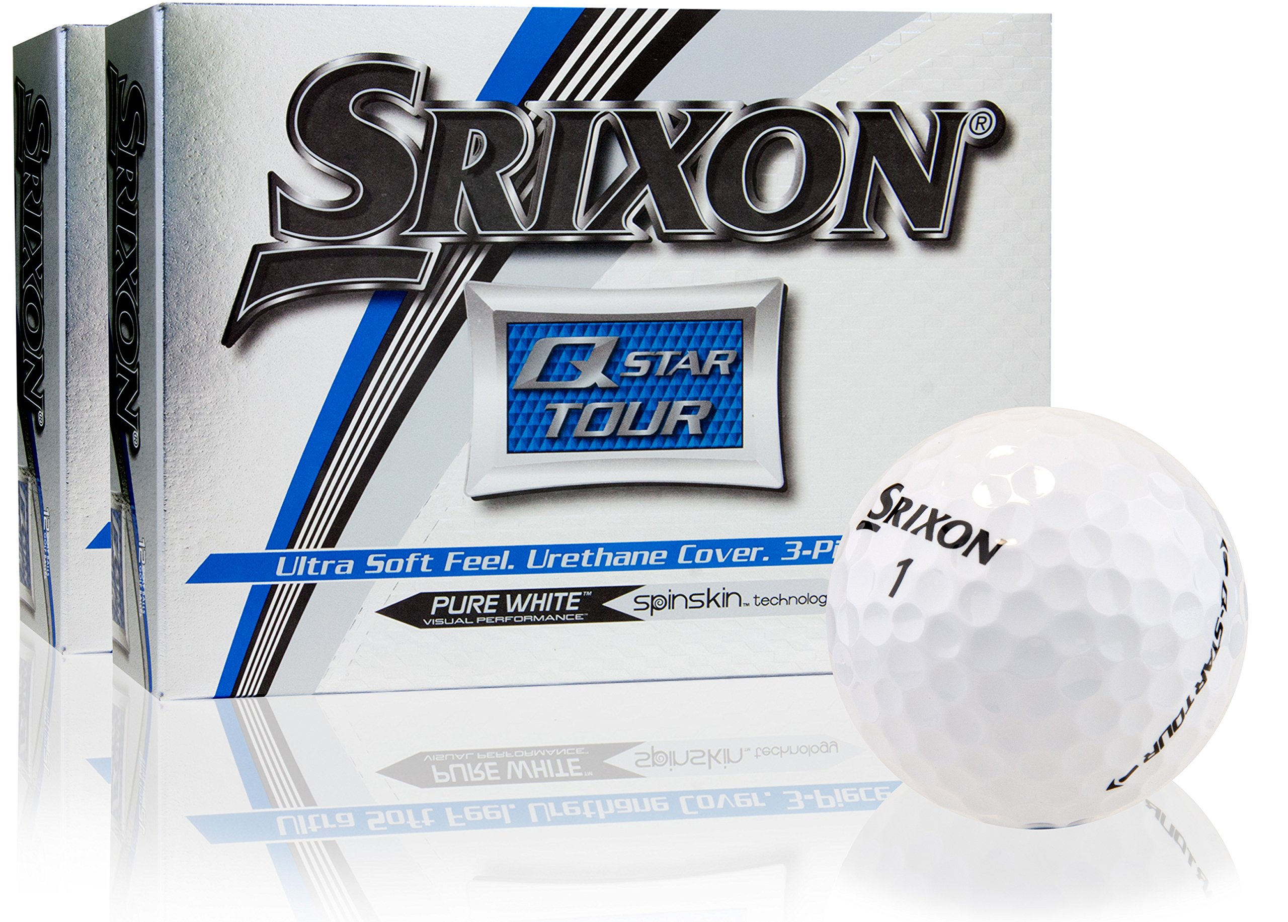 Srixon Q-Star Tour Golf Balls- Double Dozen