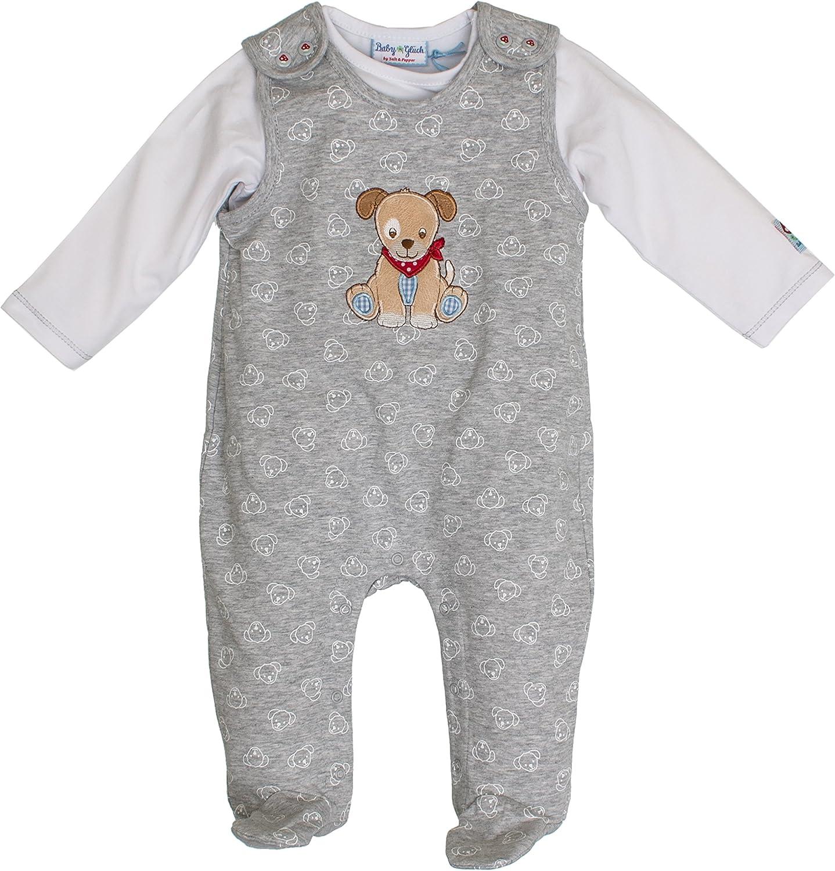 SALT AND PEPPER Baby-Jungen Bg Playsuit Allover Strampler