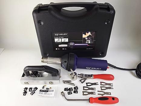 weldy 1600 W plástico pistola de aire caliente pistola de aire caliente pistola de soldar soldador