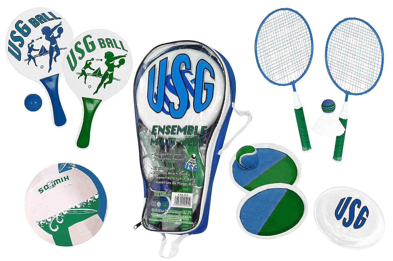 Bleu USG CSL554 Ensemble de Multi Jeux Mixte Enfant