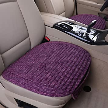 Not Applicable Car Seat Covers Purple Flower Protector Cushion Premium Cover for Women Men Girls Boys Fits Most Cars Truck SUV Van
