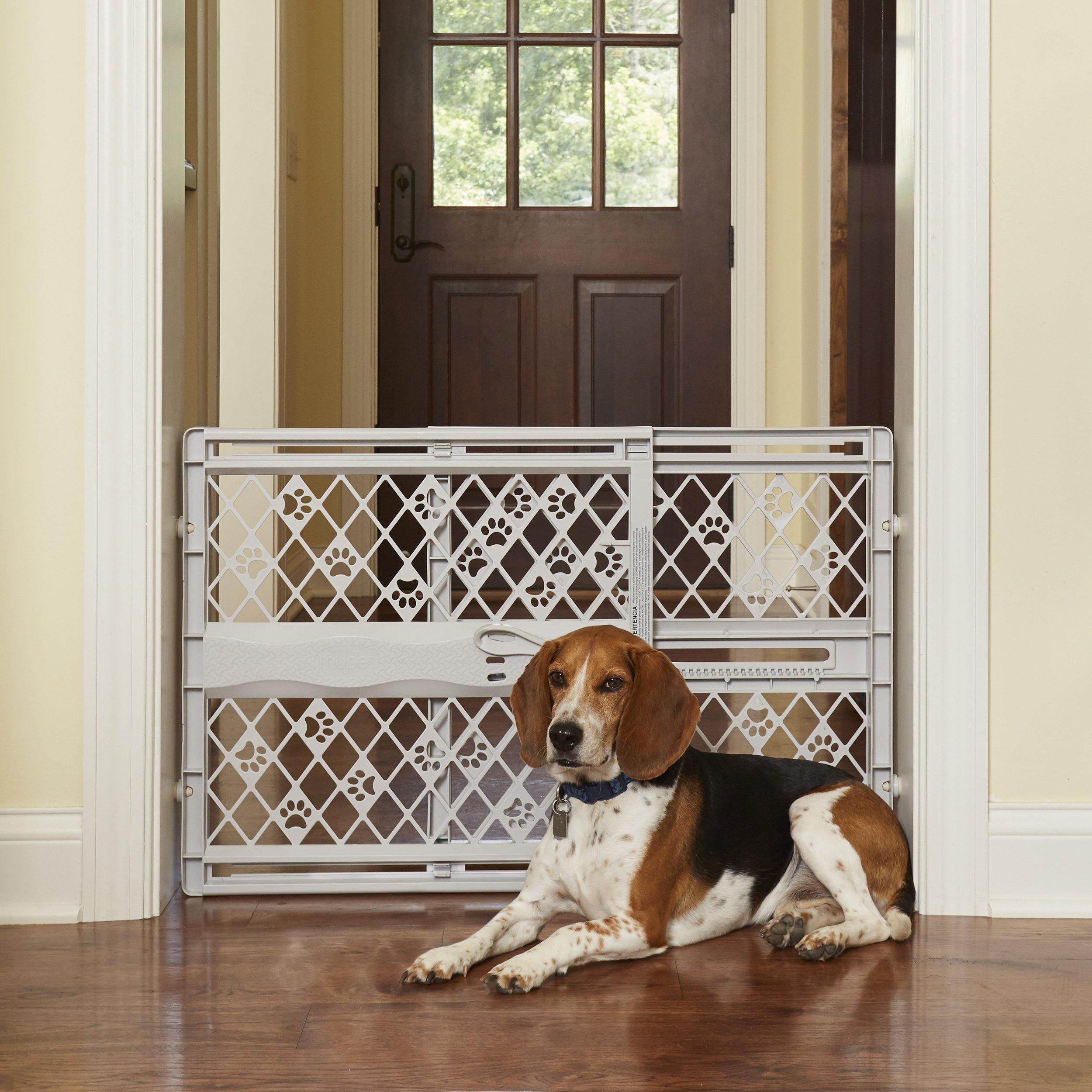North States Pet MyPet Paws Portable Pet Gate fits Openings 26'' to 42'' Wide by North States Pet (Image #4)