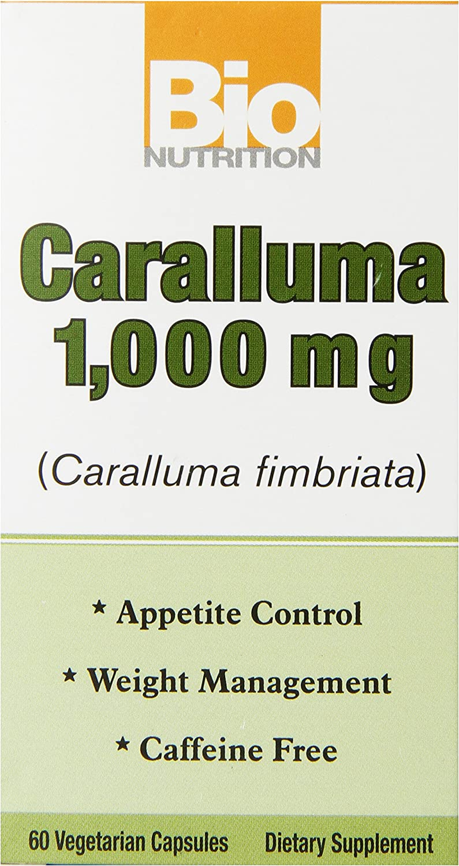 Bio Nutrition Caralluma Vegi-Caps, 1,000 mg, 60 Count