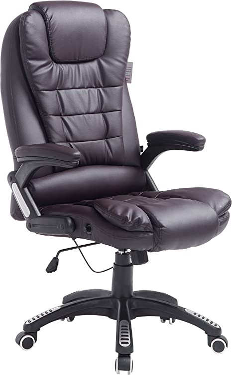 Executive Recline Extra Padded Office Chair - Best Office Recliner Chair