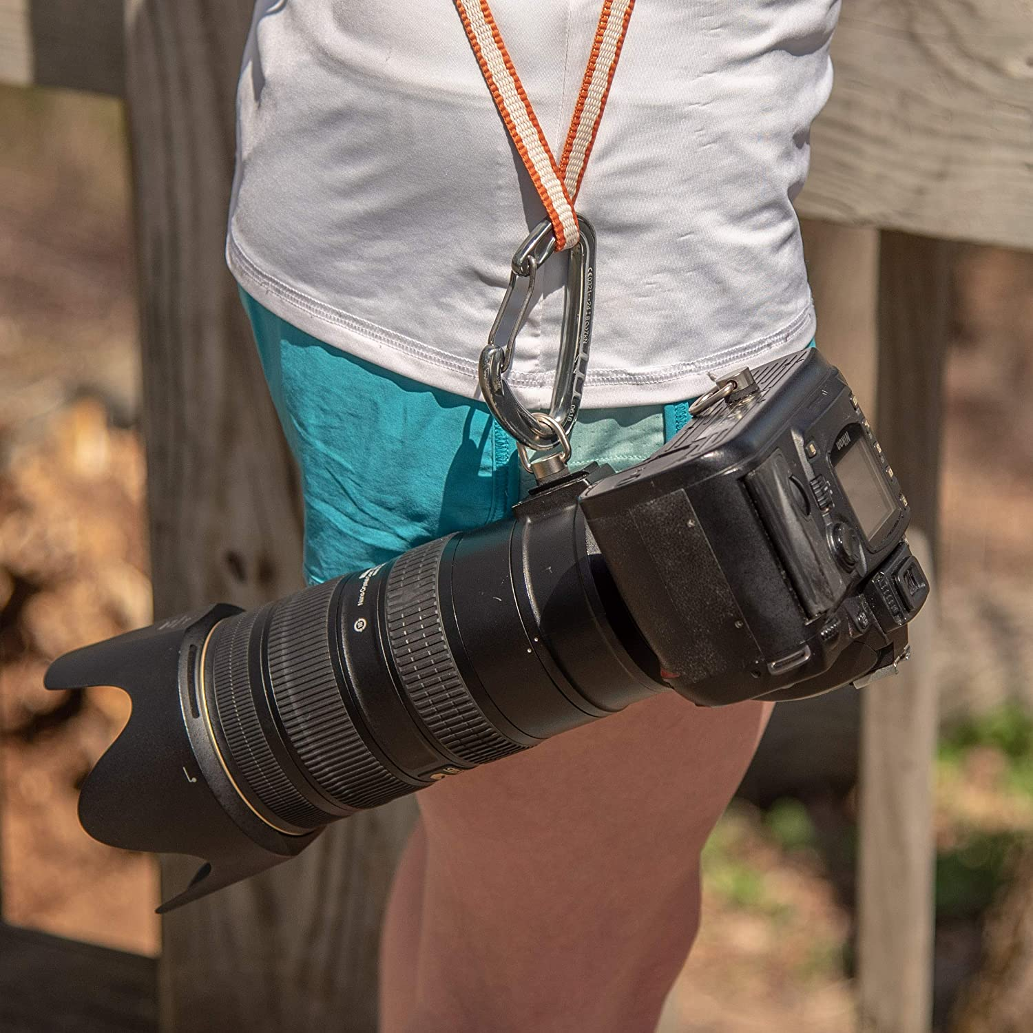 Danger Buddies Camera Carabiner Clip Easily Attach a Carabiner to Your Camera!