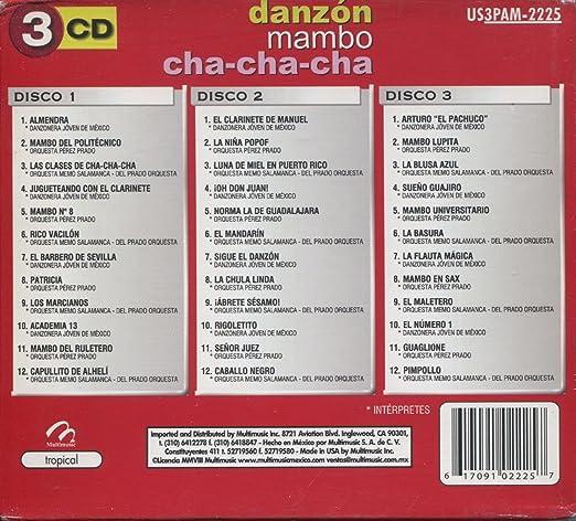 Amazon.com: Danzon, Mambo & Cha-cha-cha - 3 Super: Music