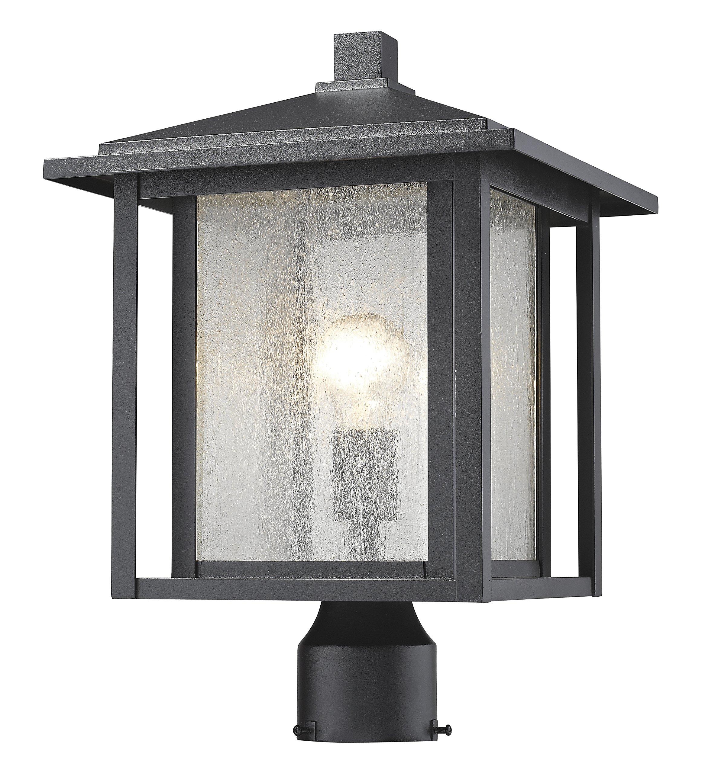 Z-Lite 554PHB-BK 1 Light Outdoor 1