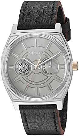 3edab93ce86 Image Unavailable. Image not available for. Color  Nixon Men s  Star Wars  Phasma  Quartz Stainless Steel and Leather Casual Watch ...