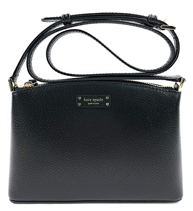 Kate Spade New York Jeanne Crossbody Grove Street Handbag Black Leather
