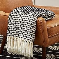 Rivet Bubble Textured Fringe  Throw Blanket