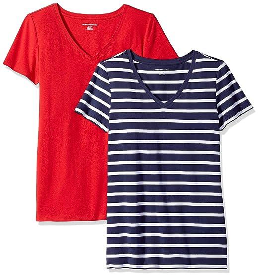 Amazon Essentials Wae45055sp18, 2erPack T-shirt,