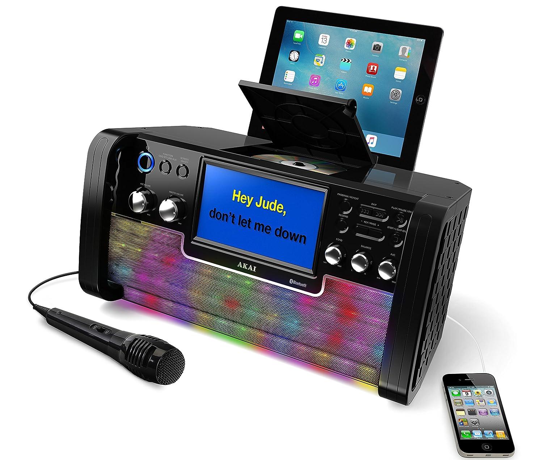 karaoke machine mp3 compatible