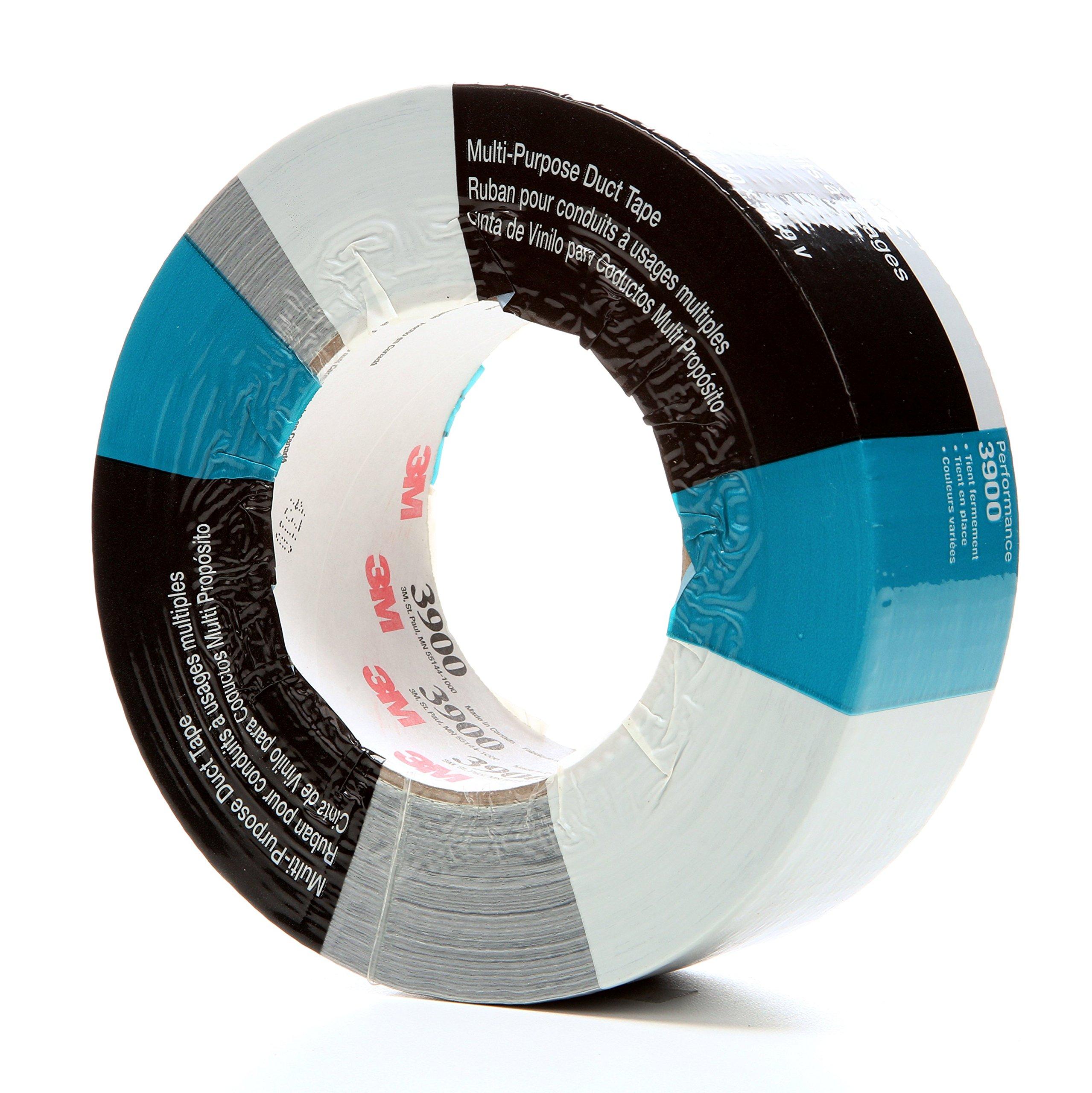 3M Multi-Purpose Duct Tape 3900 Silver, 48 mm x 54.8 m 7.7 mil (MMM3900)