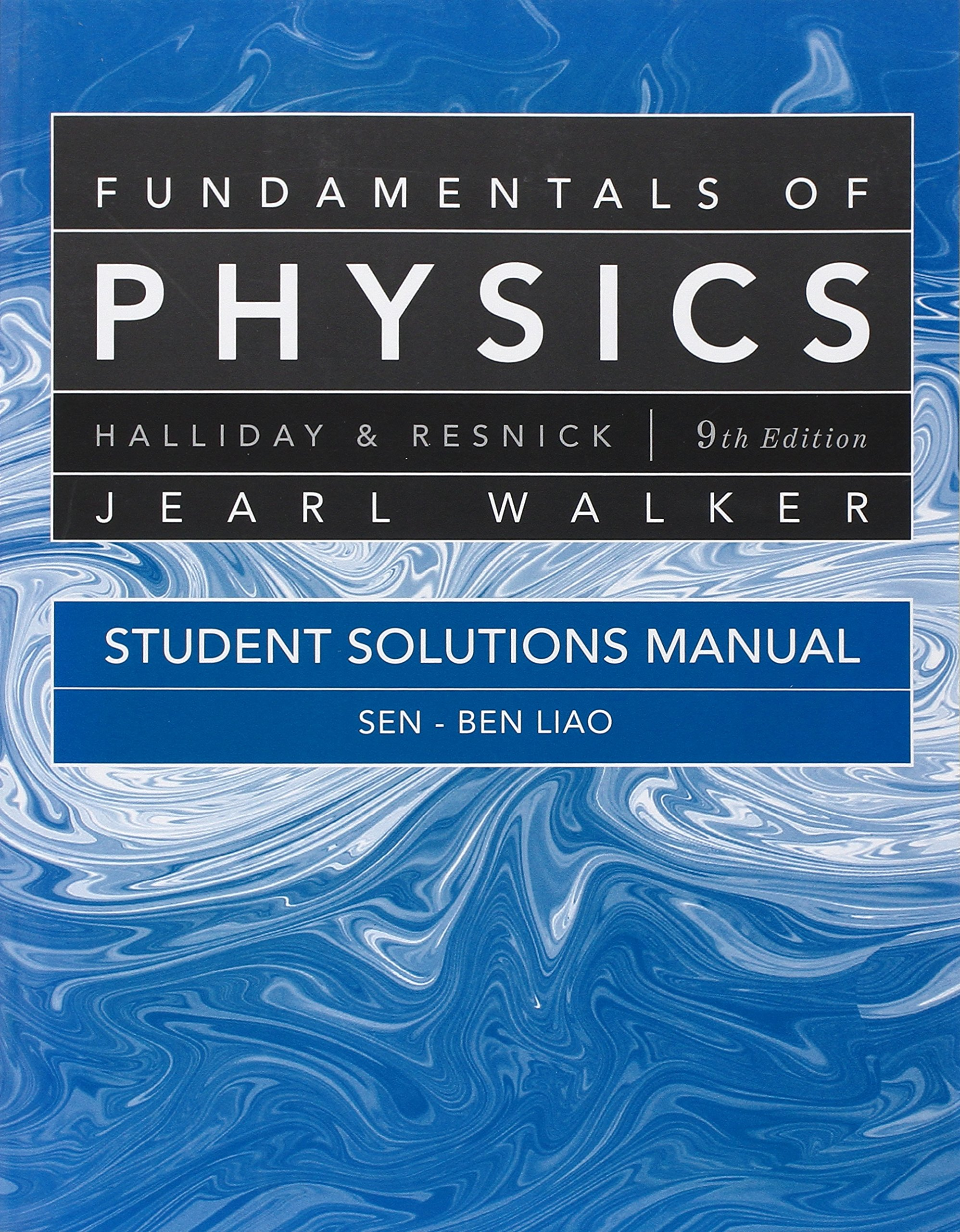 Student Solutions Manual for Fundamentals of Physics: David Halliday,  Robert Resnick, Jearl Walker, J. Richard Christman: 9780470551813: Books -  Amazon.ca