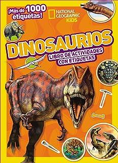 Dinosaurios: Mi mejor colección de etiquetas (National Geographic Kids) (Spanish Edition)