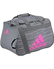 adidas Unisex Diablo Small Duffel Bag, Collegiate Navy/Onix Jersey/Hi - Res Green/Bahia Mag, ONE Size