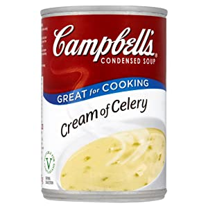 Campbell's Cream of Celery Condensed Soup 295g - Pack of 6