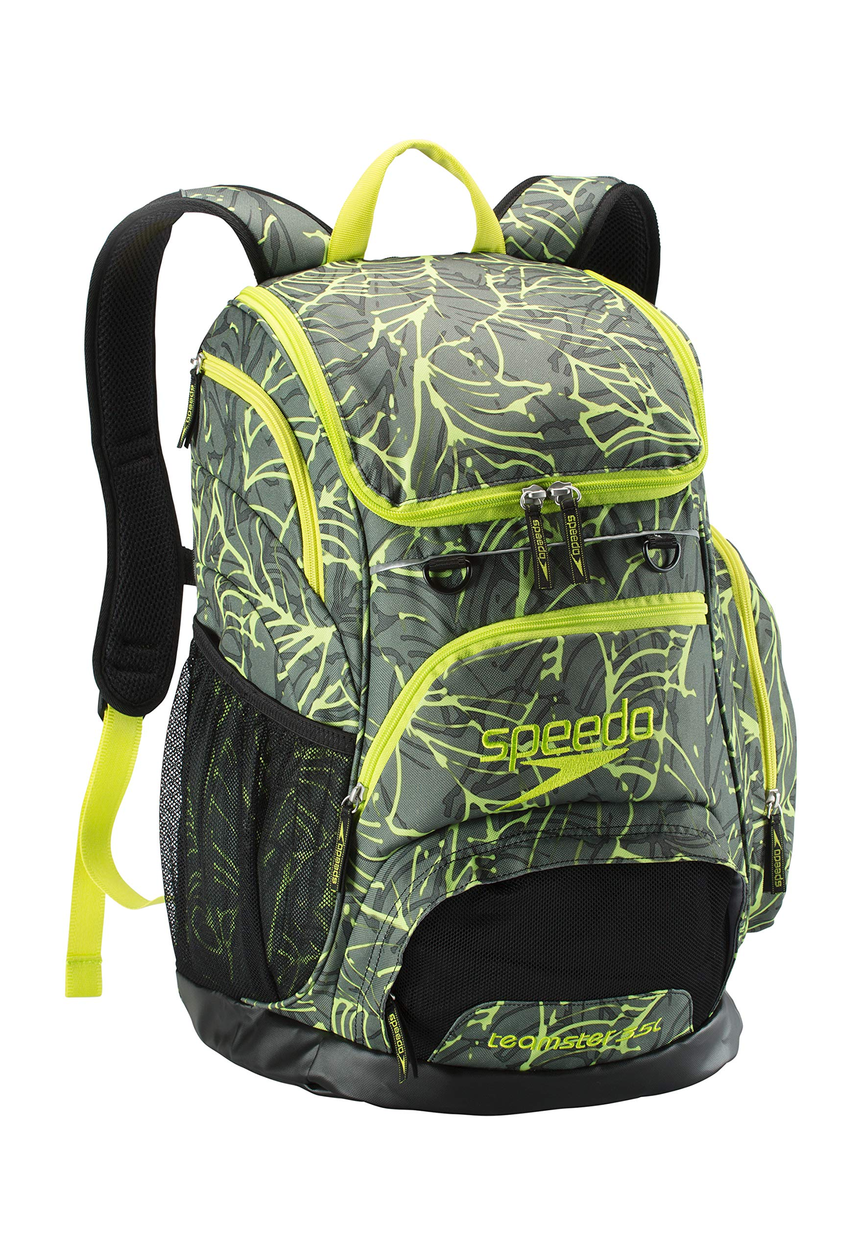 Speedo Printed Teamster Backpack 35l, Palm, One Size
