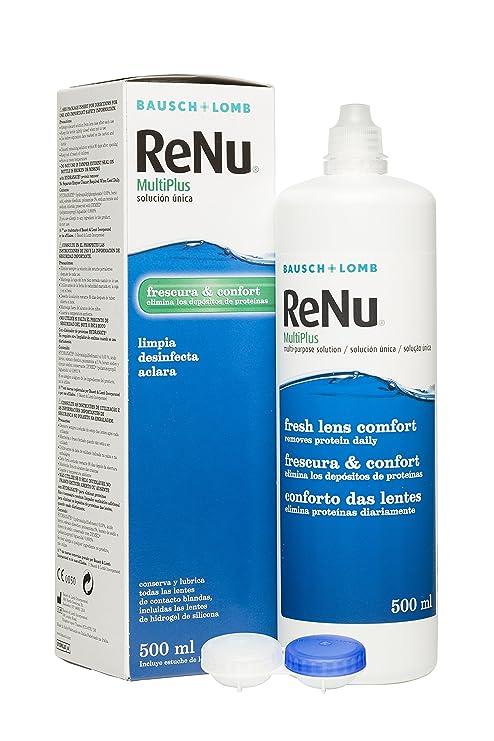 c1027d45ef ReNu Multiplus Solución única - 500 ml: Amazon.es: Salud y cuidado ...