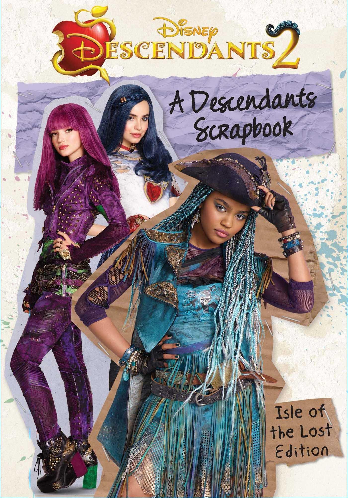 amazon a descendants scrapbook the isle of the lost edition