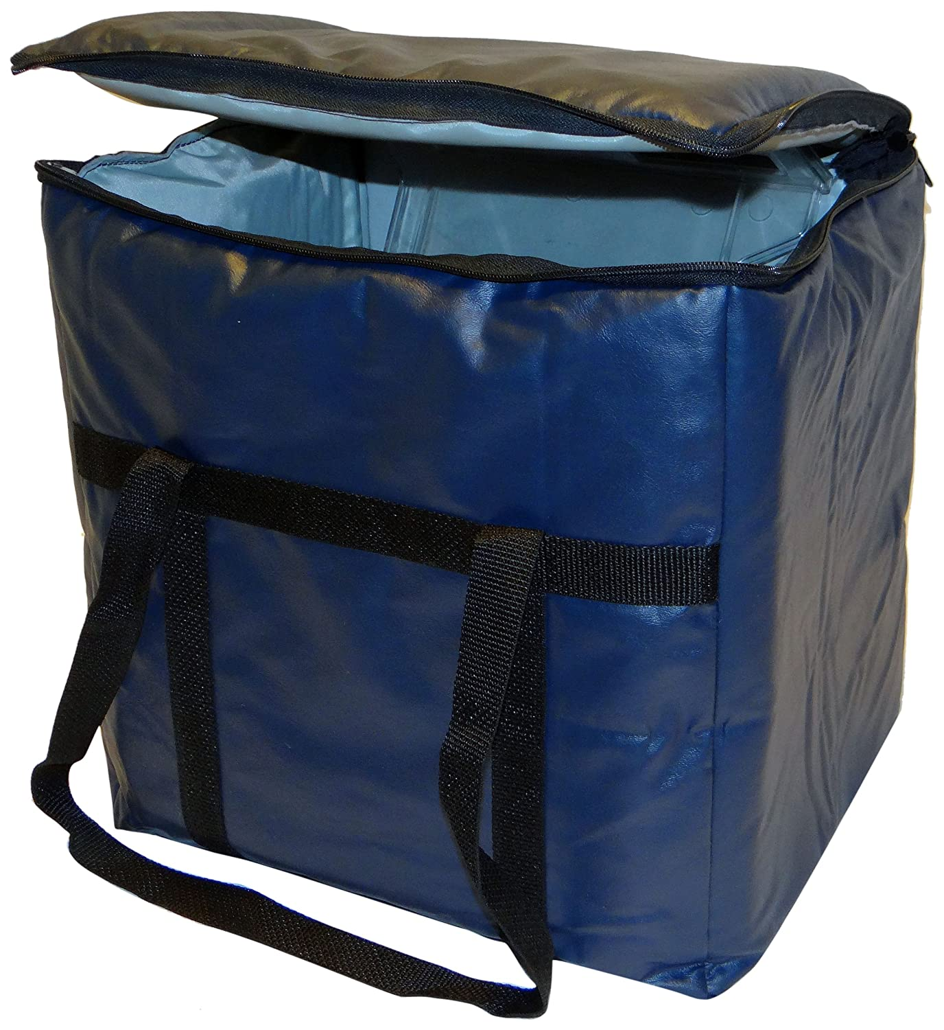 Phoenix 13-Inch by 22-Inch by 10-Inch Insulated Delivery Bags, Dark blue